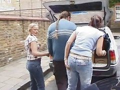 British Milf Angie George In A L...