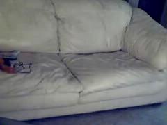 Hidden Cam Couch Bate