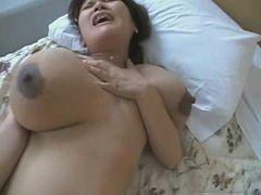 Kanae, Japanese Girl With Dark And Huge Aerolas