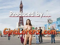 Gina Lorenz Naked In Blackpool