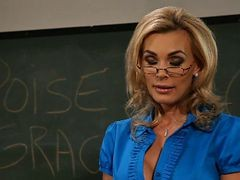 Charm School -lexy Swallow And Tanya Tate-