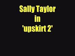 Sally Upskirt 2