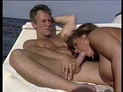 Sexy Blonde Babe With Huge Breasts Sucks Cock By Troc