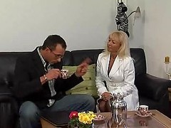 Blonde German Mature And Her Lust For Cock
