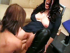 Colossal Dildo Fucking And Double Fisted Amateur Milf