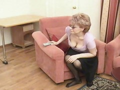 Russian Mom Is Fucked By Her Son