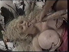 Retro Black Monster Cock Cumshot