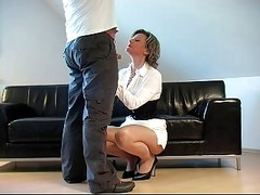 German Fantastci Handjob In Fron...