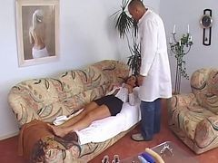 Susana De Garcia Is Thoroughly Examined By A Doctor  ...