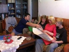 Group Sex With Mom Son And His F...