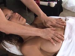 Sensual Massage For A Cute Teen