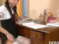 Nice Schoolgirl Marizza Masturba...