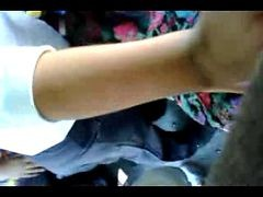 Young Girl Allowing Guy To Rub His Dik In Bus