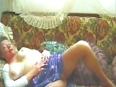 Nicely Titted Pantyhose Granny P...