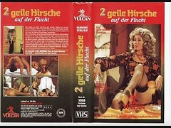 2 Geile Hirsche Auf Der Flucht 1...