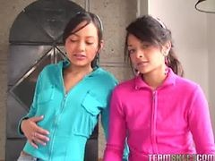 Two Lovely Latinas Tami Fabiana And Diana Delgado Fac...