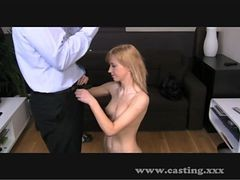 Casting 19 Y/o Perfect Creampie!
