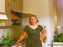 Big And Beautiful Housewife Does...