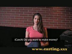 Casting - Fashion Model Resorts To Porn