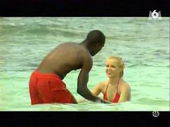 Monika Sweet Interracial Sex On The Beach (softcore)