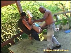 Crazy Monster Cock Hard Fuck