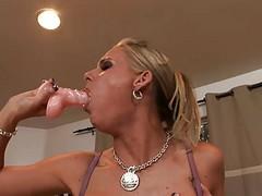 Phoenix Marie Deep Throat Dildo