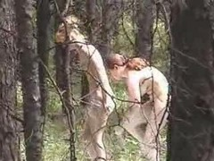 Nude Girls In A Forest - Hidden Cam