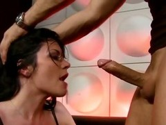 Hot Brunette Andy San Dimas Gets...
