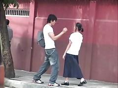 Manila Boy Fucks Manila Schoolgi...