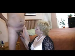 Granny Likes To Play With Cock I...