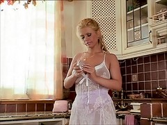 Busty Blonde Mature And The Youn...