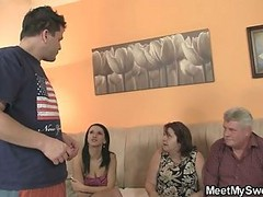 Innocent Girl Is Seduced By Her Bf& 039;s Parents