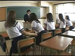 Teacher Got Fucked By All Girls...