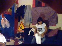 Etudiante Filmee En Camera Cachee