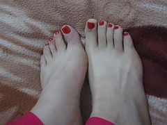 (1) My Asian Gfand#039;s Feet, Toes And Soles! Chinese Foot Fetish!