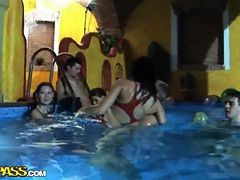 Horny Russian Students Having Fun At A Private Sex Hardcore Party