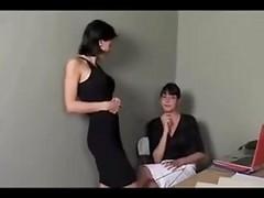 Lezley Zen Lesbian Secretary
