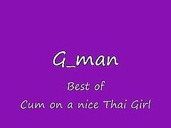 Best Of Cum On A Nice Thai Girl