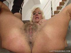 Lusty Granny Anal