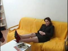 Russian Mom Gets Ass Pumped