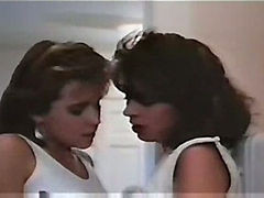 Vintage Lesbian Scene With Christy Canyon And Ali Moore