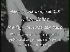 Marilyn Monroe Original 1.5 Million Dollar Sex Tape?
