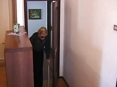 Italian Granny Is Fucked By 2 Gu...