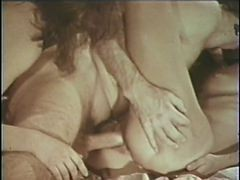 Vintage: 70s Hairy Threesomes