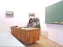 Mature Teacher With Mini Skirt F...
