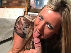 British Slut Sarah Louise Sucks And Fucks