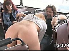 Hot Public Sex Scene On The Bus