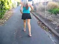 Upskirt Teen Flashing