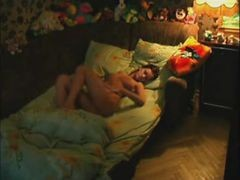 Amateur House Cams Catch A Woman Doing Morning Masturbation