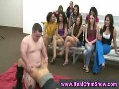 Girl Fucked At Amateur Cfnm Party